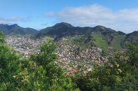 Madeira, view of Machico