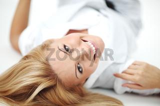 beauty woman close up portrait