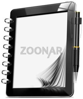 Tablet Computer Memo Pad