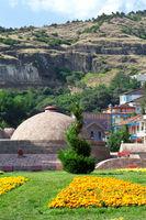 Tbilisi sulfuric baths Abanotubani