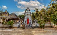 Small Hindu Temple, Nusa penida island, Bali Indonesia