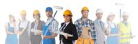 Industrial contractors workers