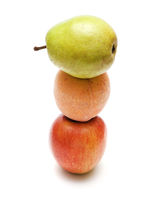 The friend on the friend the lying: an apple, a peach and a pear