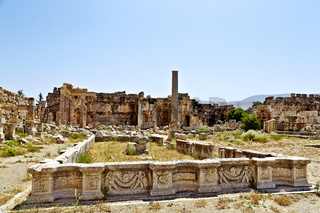 Great Court  - Baalbek, Lebanon