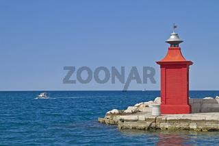 Der Leuchtturm von Piran