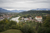 The city of Bad Toelz
