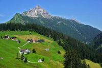Biberkopf bei Warth-Lechleiten, Allgäuer Alpen,