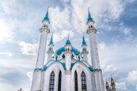 Kazan/Russia-05.07.20:The view of kazan kremlin in tatarstan