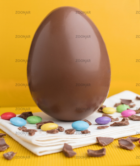 Delicious Easter holiday chocolate bunny