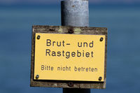 Signs in the Gelting Bay. 004