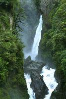 Pailon del Diablo Waterfall, Ecuadorian Andes, Ecuador