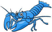 cartoon yabby crayfish comic animal character