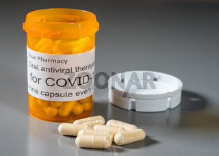 Concept of a new oral antiviral therapeutic treatment for Covid-19 virus