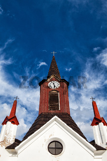 Wooden church in Psare
