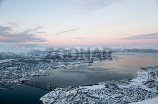 Panoramic view of Tromso