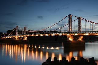Chelsea Bridge at dusk London River Thames