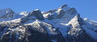Mountains Sanetschhore, Mittaghore and Schluchhore.