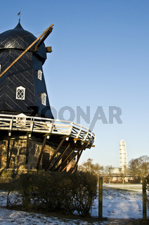 Windmill and Turning Torso