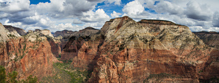 Canyon of the Zion National Park