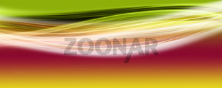 Abstract elegant panorama wave design with space for your text