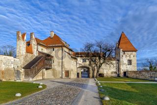Master Gunsmith's Tower in Burghausen Castle, Germany