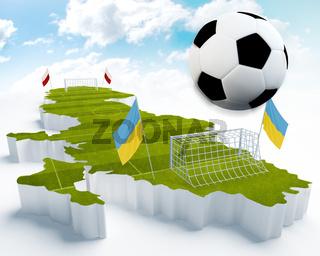 Poland and Ukraine European Soccer championship