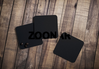 Square beer coasters