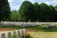 Britischer Soldatenfriedhof in Berlin