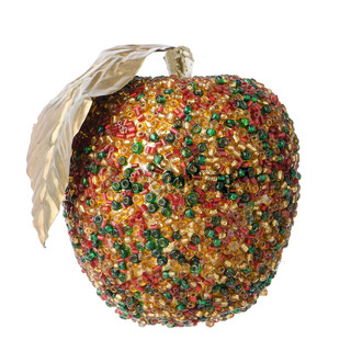 Christmas apple decoration