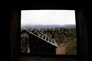 alte Goldmine bei Nabesna Alaska