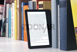 E-Book und gedruckte Bücher