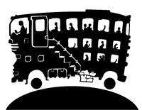 Bus Big Cartoon Silhouette