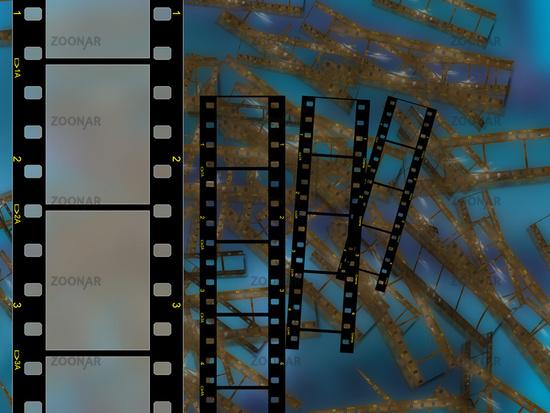 High resolution frsme film 35mm