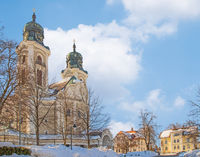 Katholische Stadtpfarrkirche  St. Peter und Paul, Lindenberg i. Allgäu