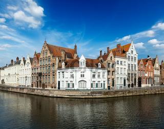Bruges canals. Brugge