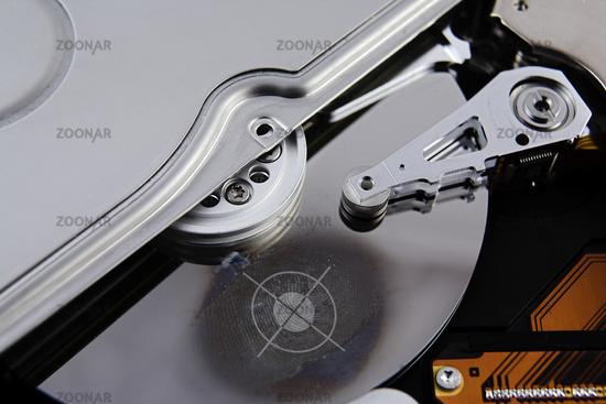 Hard drive with Fingerprint