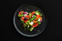 Greek salad love heart
