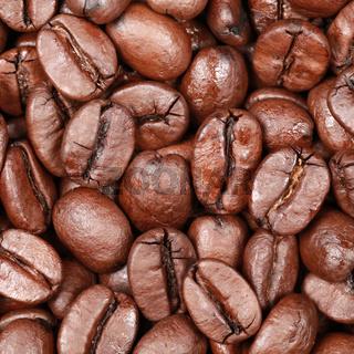 Hintergrund aus Kaffeebohnen