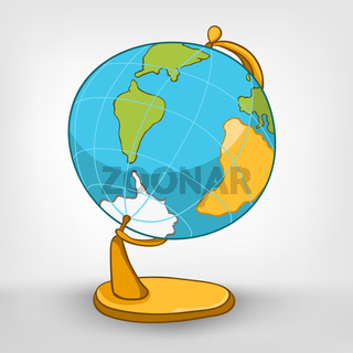 Cartoons Decoration Globe