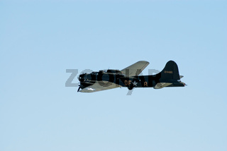 Boeing B-17 in flight