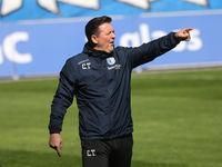 Cheftrainer Christian Titz 1.FC Magdeburg DFB  3.Liga Saison 2020-21