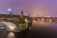 Charles bridge in Prague - Czech Republic