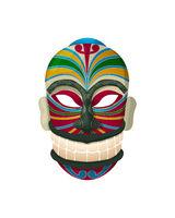 Maori mask 3