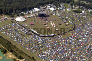 Area4 festival am Flugplatz Borkenberge