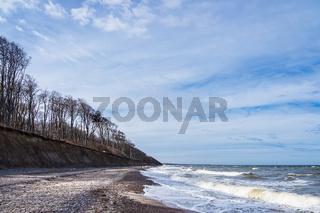 Ostseeküste am Gespensterwald bei Nienhagen