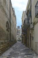 narrow old street at Altamura