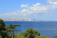 View to the Island Krk in Croatia