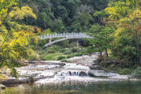 Odaesan Woljeongsa Geumgang Bridge