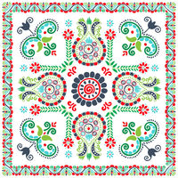 Hungarian embroidery pattern 137