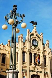 Estacio del Nord or north train station in Valencia